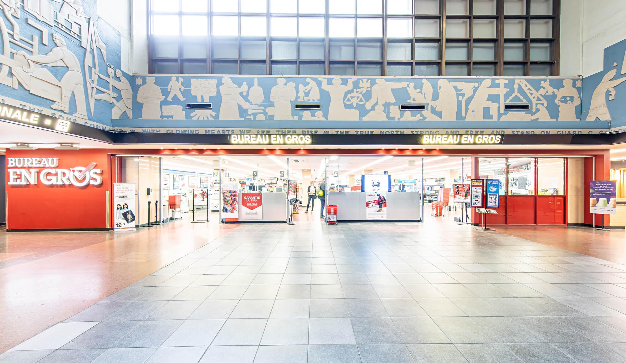 Montreal central station halles de lau gare centrale de montréal